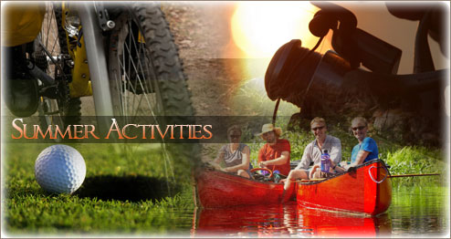 Spring, Summer, Fall activities in Sandpoint, Idaho and surrounding communities